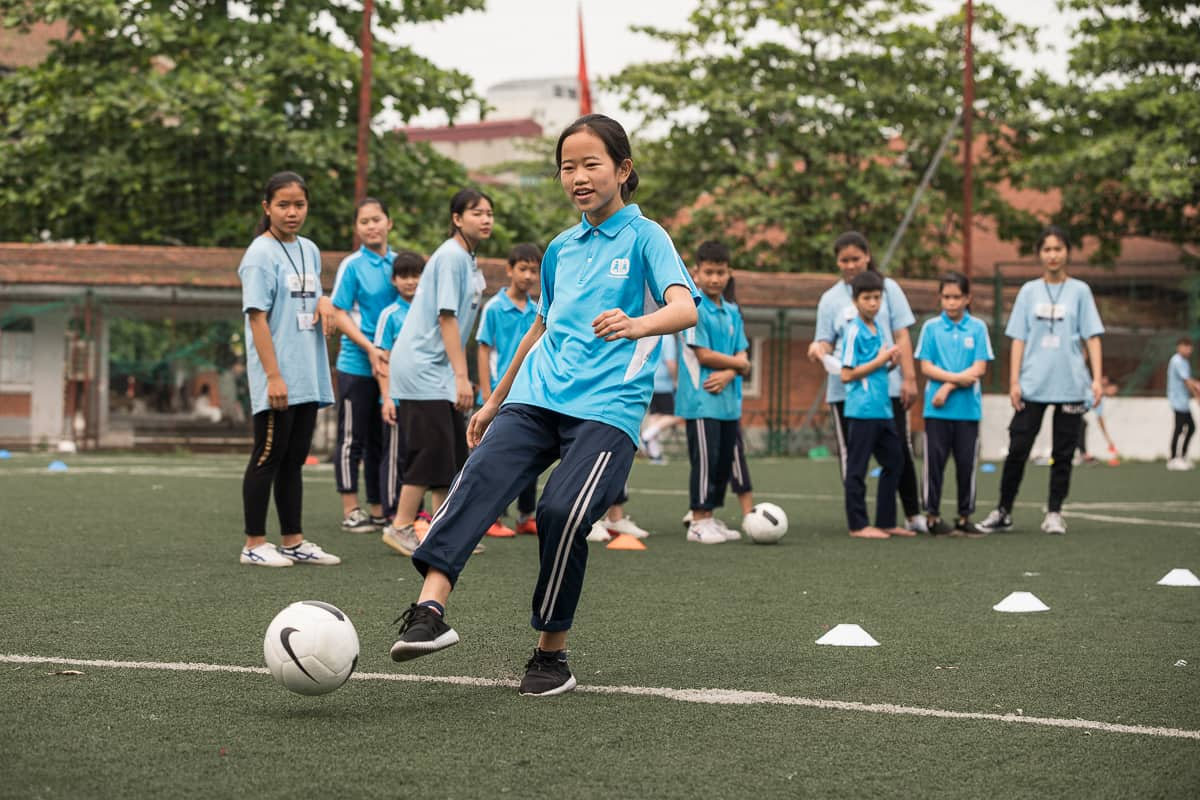 Vietnam Manchester City Cityzens giving young leaders 21
