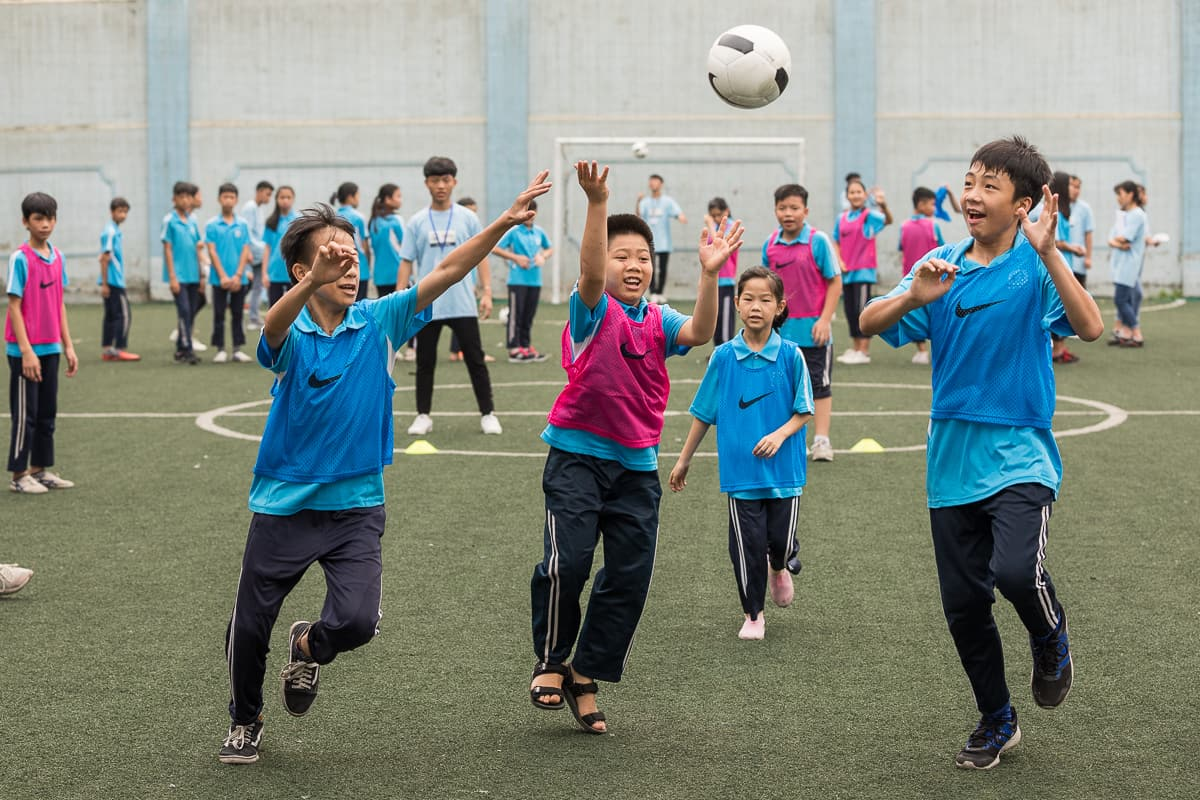 Vietnam Manchester City Cityzens giving young leaders 23