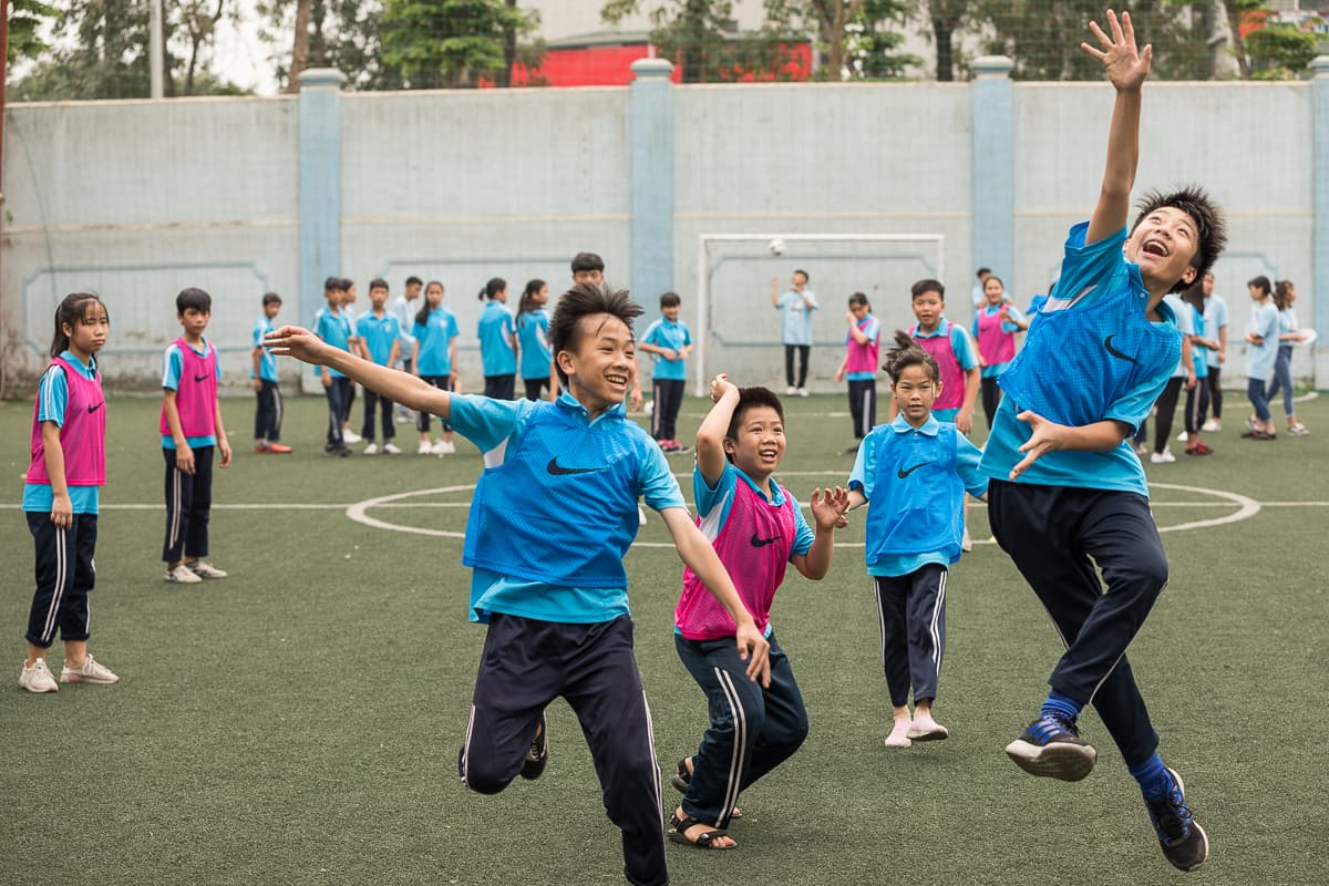 Vietnam Manchester City Cityzens giving young leaders 24