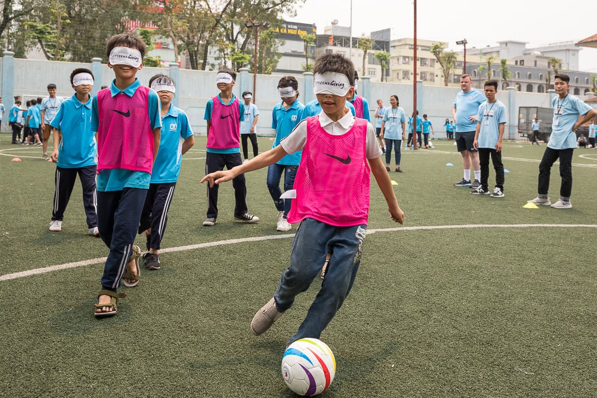 Vietnam Manchester City Cityzens giving young leaders 29
