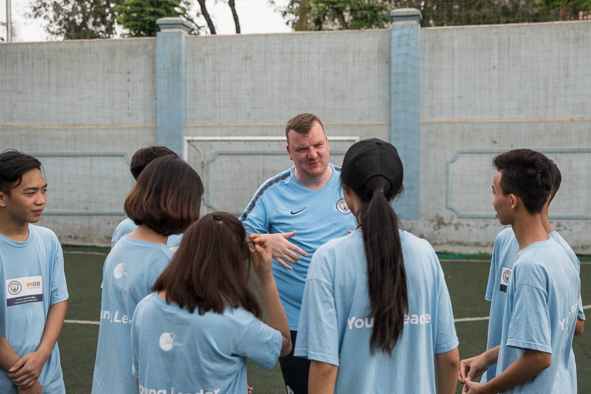 Vietnam Manchester City Cityzens giving young leaders 5