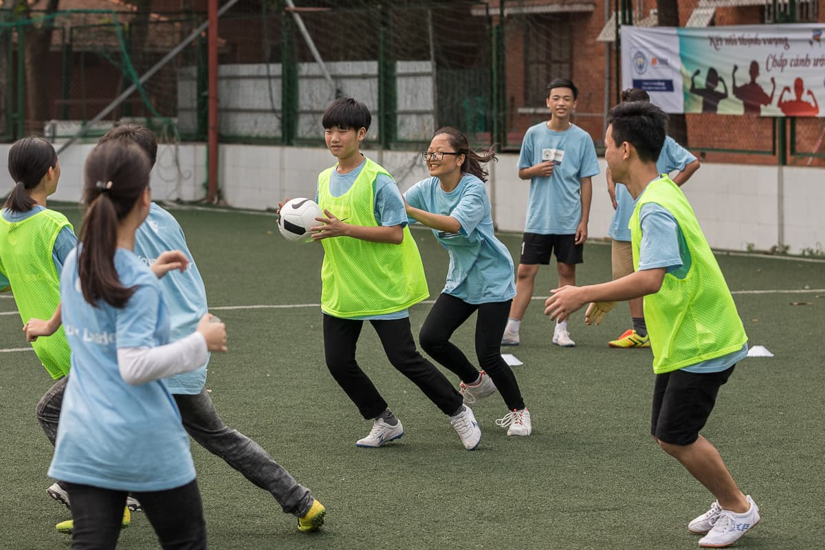 Vietnam Manchester City Cityzens giving young leaders 8