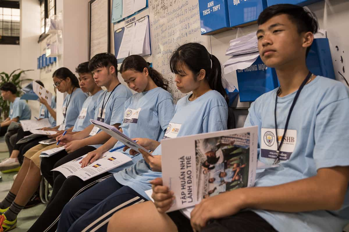 Vietnam Manchester City Cityzens giving young leaders 9